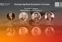 Startups agrifood ecosystems in Europe